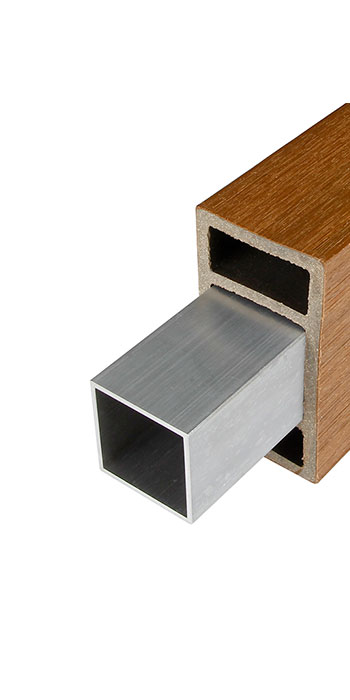 Refuerzo interior de aluminio