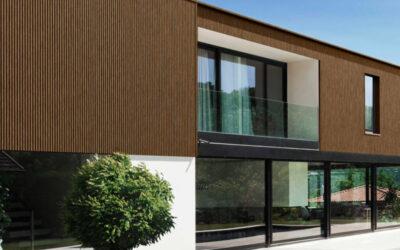 Conoce nuestras fachadas ventiladas de madera técnica
